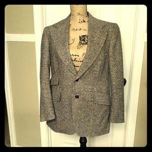 Vintage Men's Tweed Jacket
